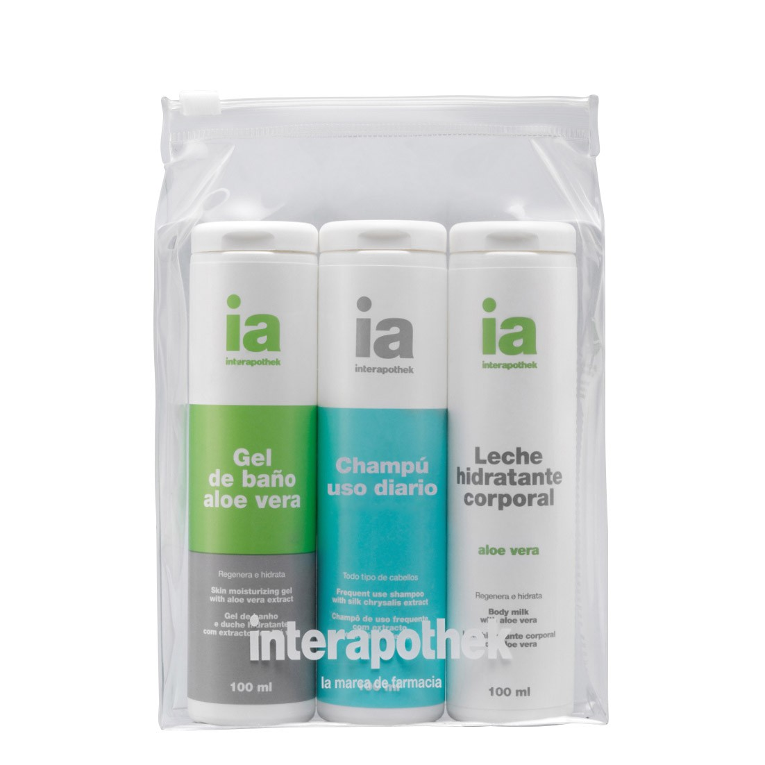INTERAPOTHEK NECESER VIAJE HIG.FOR 100ML