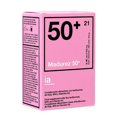 INTERAPOTHEK NUTRICION 50+ 30 CAPSULAS