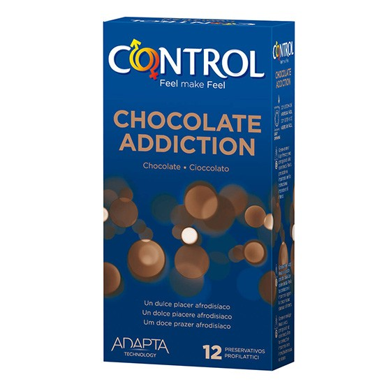 PRESERVATIVO CONTROL SEX CHOCOLATE 12 UND