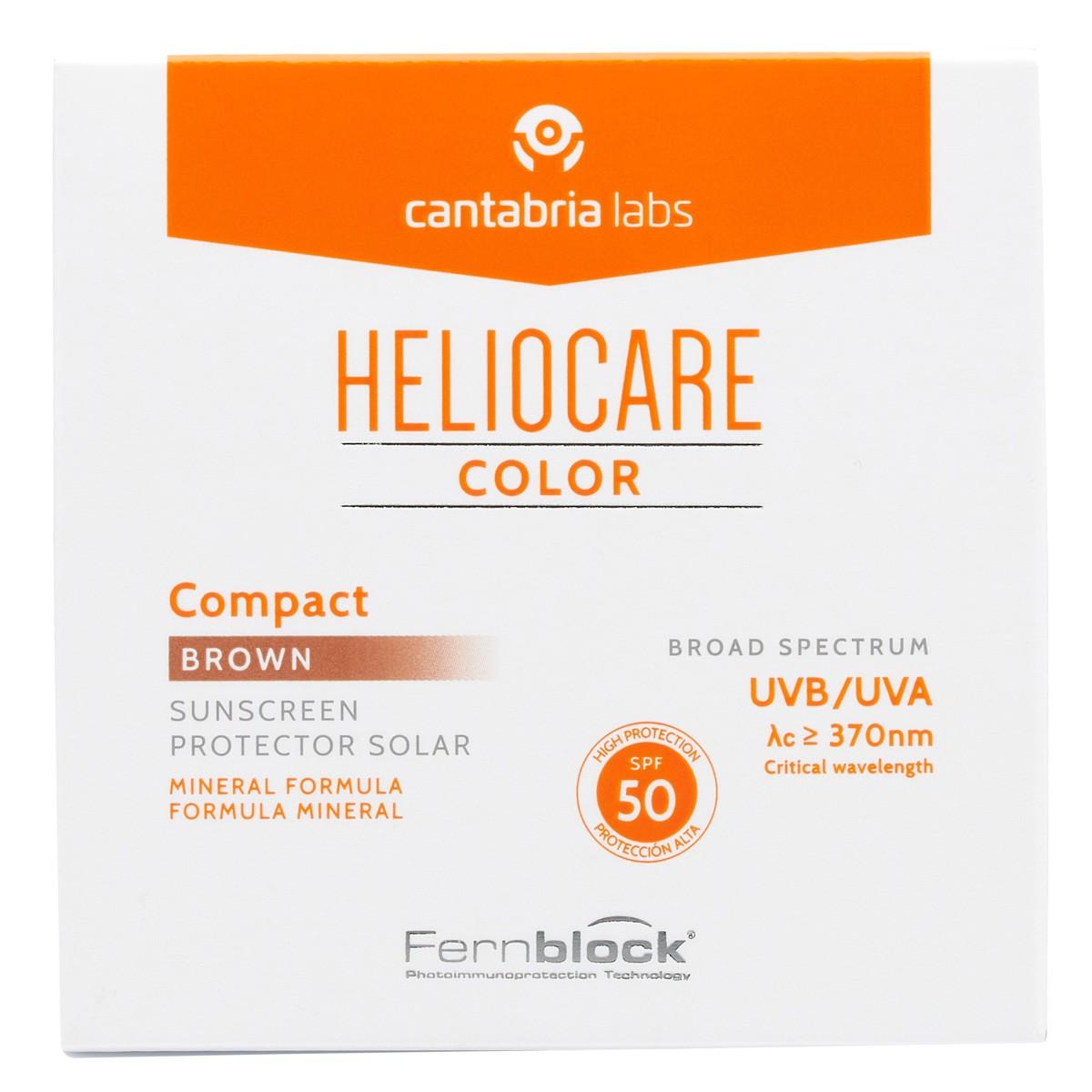 HELIOCARE COMPACTO COLOR BROWN F50 10 G.